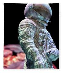 Urban Spaceman Fleece Blanket