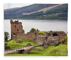 Urquhart Castle I Fleece Blanket