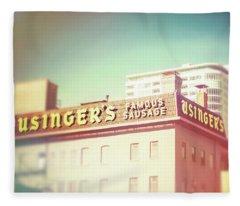Usinger's Famous Sausage Fleece Blanket