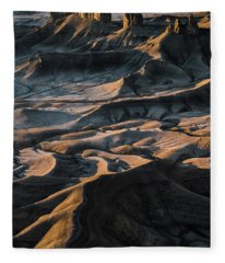 Utah Vista Fleece Blanket