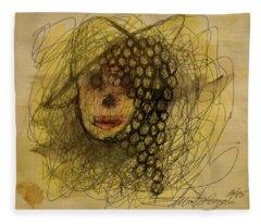 Uva Queen Of The Grapes Fleece Blanket