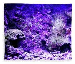 Uw Coral Stone 2 Fleece Blanket