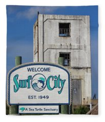 Vacation Destination  Fleece Blanket