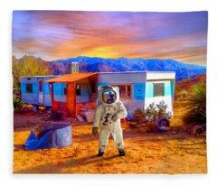 Vacation Rental Fleece Blanket