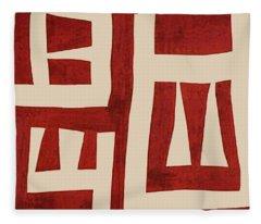 Vagabond Wander Map Fleece Blanket