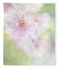 Valentine Love Fleece Blanket