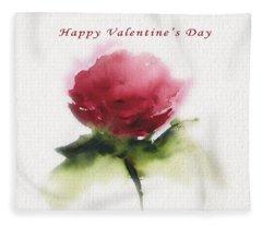 Valentine's Day  Fleece Blanket