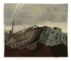 Valiant Hearts The Great War Fleece Blanket