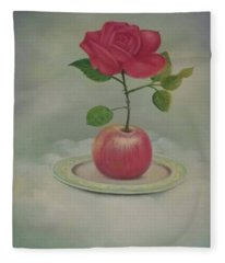 Vamos Juntos Encentivar A Nossa Arte Brasileira? Fleece Blanket