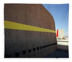 Varini And Le Corbusier  Fleece Blanket