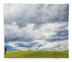 Fleece Blanket featuring the photograph Vast Open Spaces by Rick Furmanek