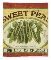 Veggie Seed Pack 1 Fleece Blanket