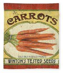 Veggie Seed Pack 4 Fleece Blanket