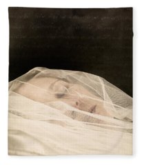Veiled Fleece Blanket