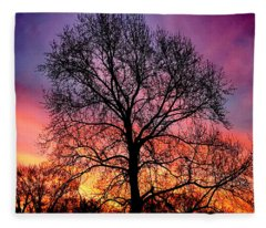 Velvet Mood Fleece Blanket