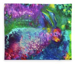 Velveteen Rabbit Fleece Blanket