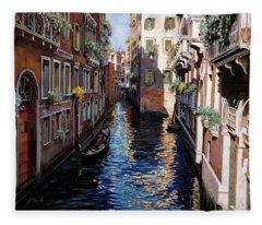 Venezia Blu Fleece Blanket