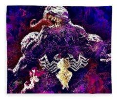 Venom Fleece Blanket