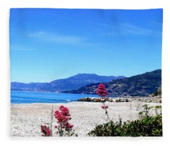 Ventimiglia Italia Fleece Blanket