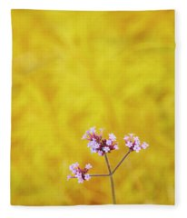 Verbena Fleece Blanket