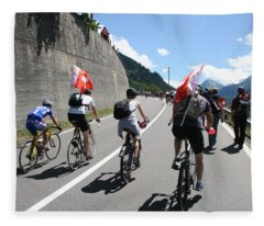 Verbier - Tour De France 2009 Fleece Blanket