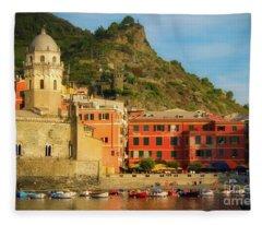 Vernazza Fleece Blanket