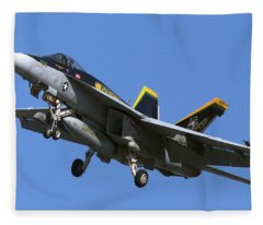 Vfa-105, Gunslingers  F/a-18e Super Hornet Fleece Blanket