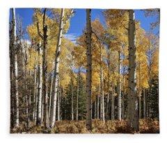 Vibrancy Of Autumn IIi Fleece Blanket