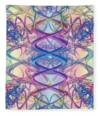 Vibrations Fleece Blanket