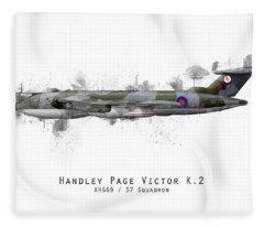 Victor Sketch - Xh669 Fleece Blanket