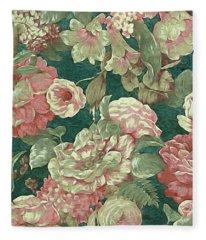 Victorian Garden Fleece Blanket