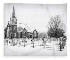 Victorian Gothic Fleece Blanket