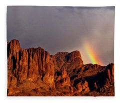 Fleece Blanket featuring the photograph Victory In The Storm by Rick Furmanek