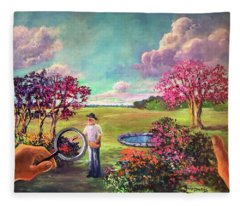 Viewfinder Fleece Blanket