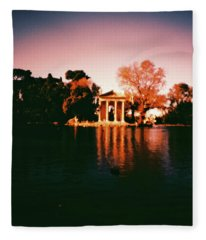 Villa Borghesse Rome Fleece Blanket