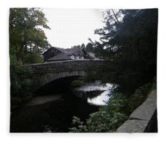 Village Bridge Fleece Blanket