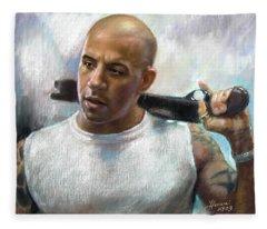Vin Diesel Fleece Blanket