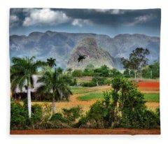 Vinales. Pinar Del Rio. Cuba Fleece Blanket