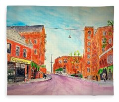 Vintage Amesbury Fleece Blanket