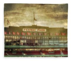 Vintage Fenway Park - Boston Fleece Blanket