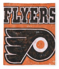 Vintage Flyers Sign Fleece Blanket
