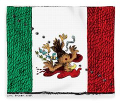Violence In Mexico Fleece Blanket