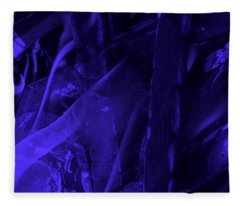 Violet Shine I Fleece Blanket