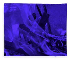 Violet Shine I I Fleece Blanket
