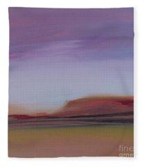 Violet Skies Fleece Blanket