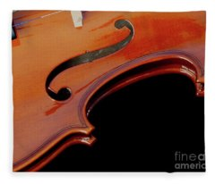 Violin Fleece Blanket