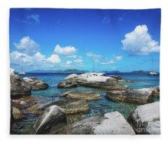Virgin Gorda Catamarans Fleece Blanket