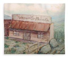 Virginia City Mining Co. Fleece Blanket