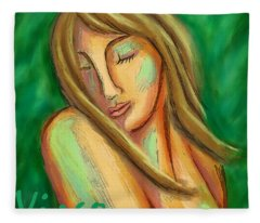 Virgo Fleece Blanket