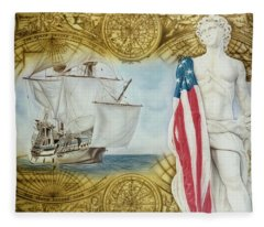 Visions Of Discovery Fleece Blanket
